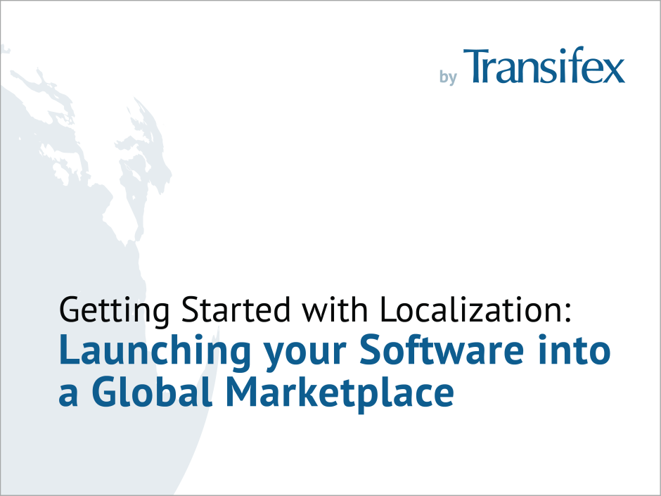 Getting Started with Localization Whitepaper Cover